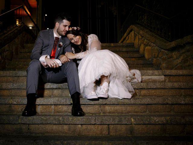 La boda de David y Sagrario en Guadarrama, Madrid 22