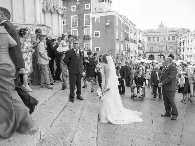 La boda de Cristina y Oliver en Cuenca, Cuenca 15