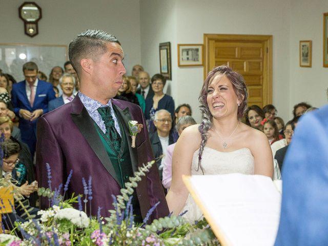 La boda de Israel y Magdalena en Brihuega, Guadalajara 23