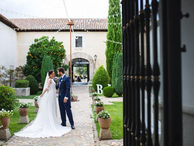 La boda de Víctor y Blanca en Torremocha Del Jarama, Madrid 77
