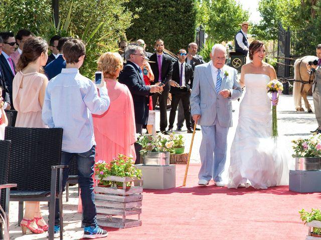 La boda de David y Aida en Illescas, Toledo 1