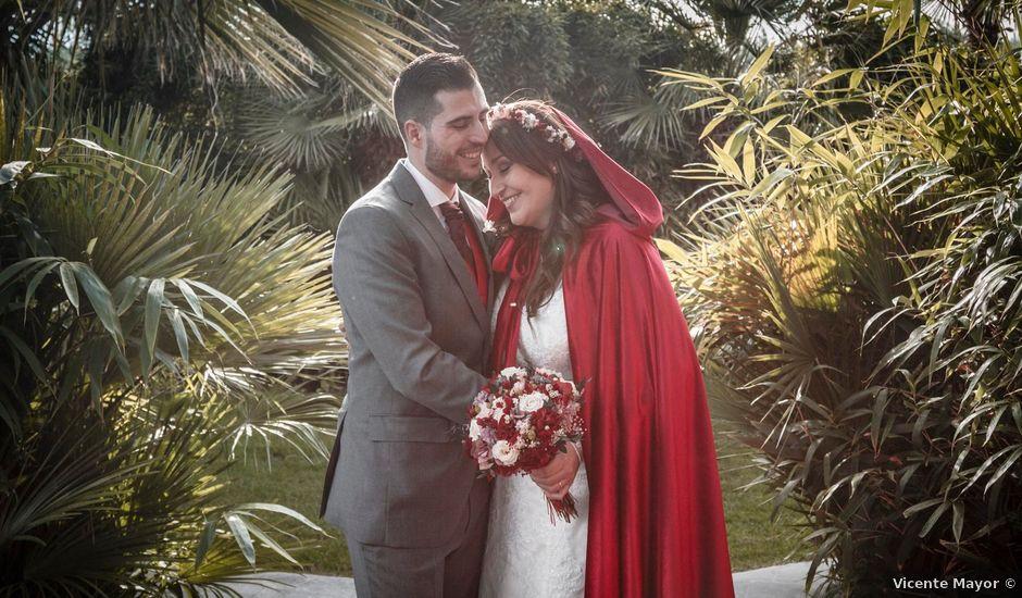 La boda de David y Sagrario en Guadarrama, Madrid