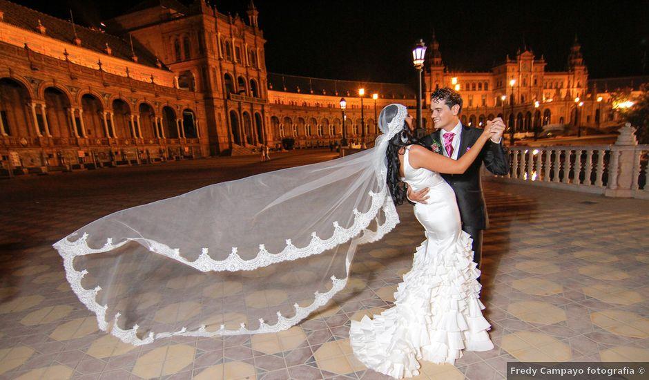 La boda de Jesus y Carmen en Sevilla, Sevilla