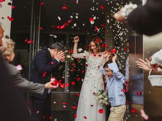La boda de Marta y Daniele