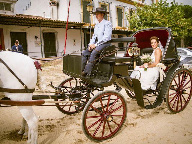 La boda de Juandi y Pili en El Rocio, Huelva 21
