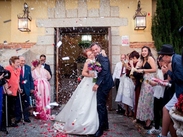La boda de Ángel y Tamara en Collado Villalba, Madrid 39