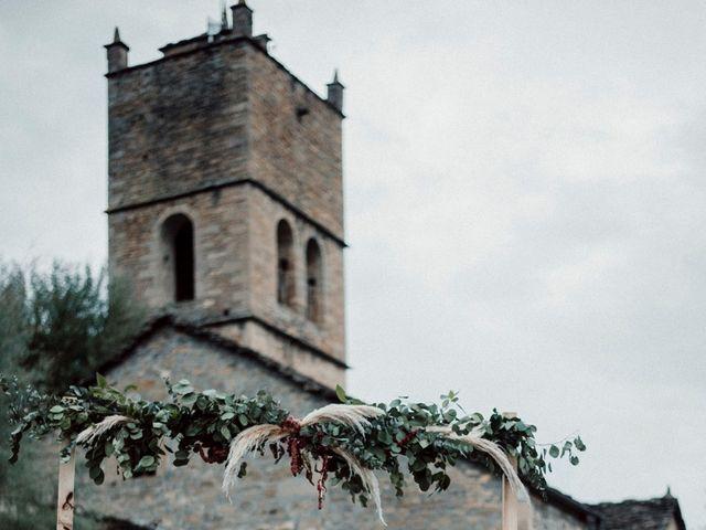 La boda de Manuel y Raquel en Morillo De Tou, Huesca 13