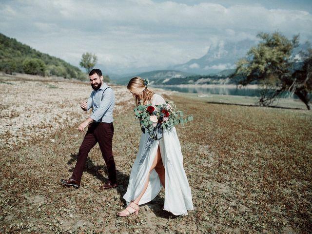 La boda de Manuel y Raquel en Morillo De Tou, Huesca 42