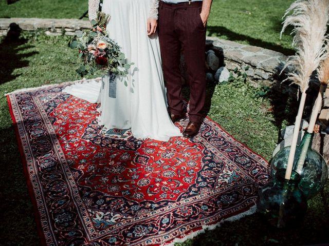 La boda de Manuel y Raquel en Morillo De Tou, Huesca 56