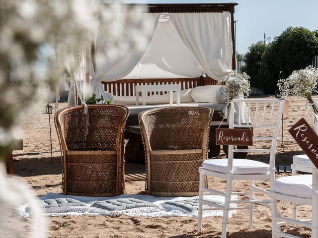 La boda de Sergio y Mamen en El Rompido, Huelva 1