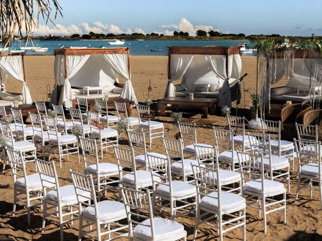 La boda de Sergio y Mamen en El Rompido, Huelva 2