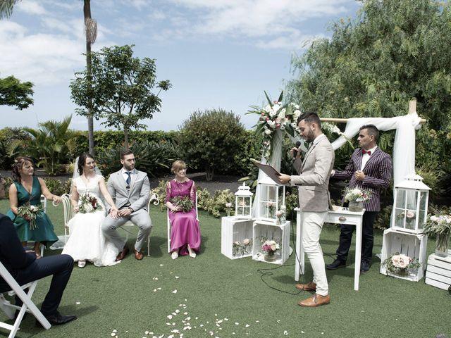 La boda de Sergio y Sara en La Orotava, Santa Cruz de Tenerife 46