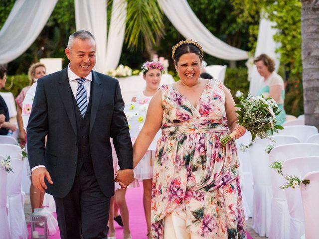 La boda de Toñi y Paco
