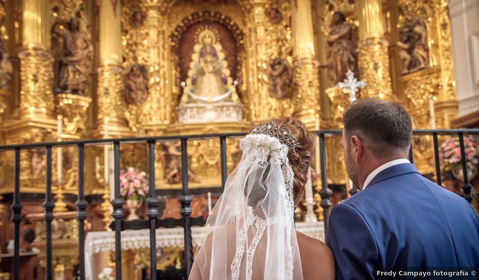 La boda de Juandi y Pili en El Rocio, Huelva