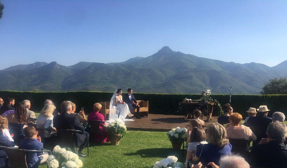 La boda de Joaquin y Criselen en Arbucies, Girona