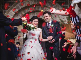 La boda de Rosália y Juan
