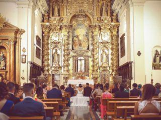 La boda de Cristina y Salva 1