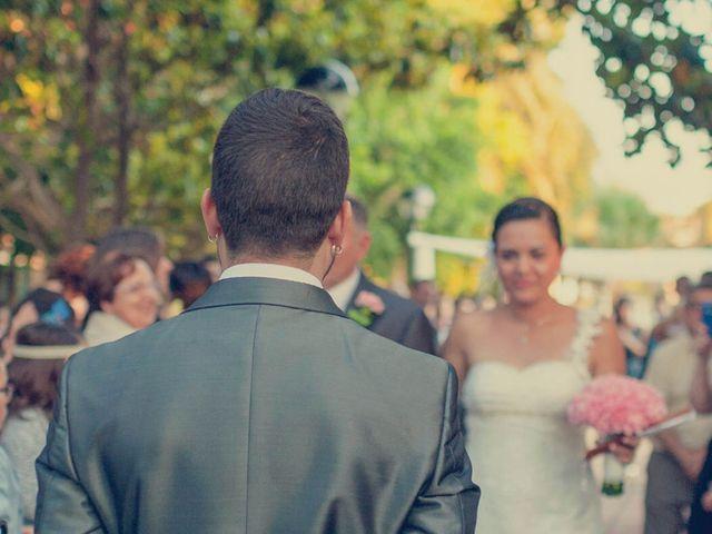 La boda de Vincen y Carmen en Castelló/castellón De La Plana, Castellón 43