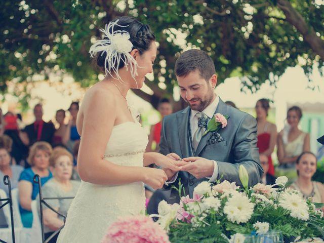 La boda de Vincen y Carmen en Castelló/castellón De La Plana, Castellón 49