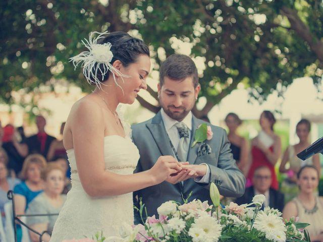 La boda de Vincen y Carmen en Castelló/castellón De La Plana, Castellón 50