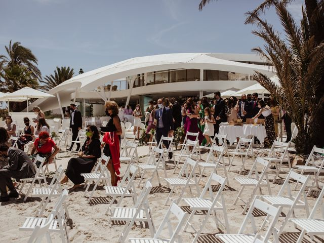 La boda de Roberto y Cristina en La Manga Del Mar Menor, Murcia 15