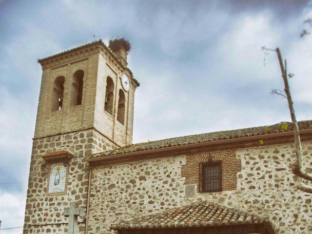 La boda de Alvaro y Carmen en San Pablo De Los Montes, Toledo 4