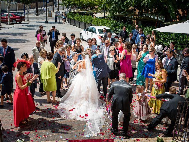 La boda de Ángel y Lorena en Tarragona, Tarragona 43
