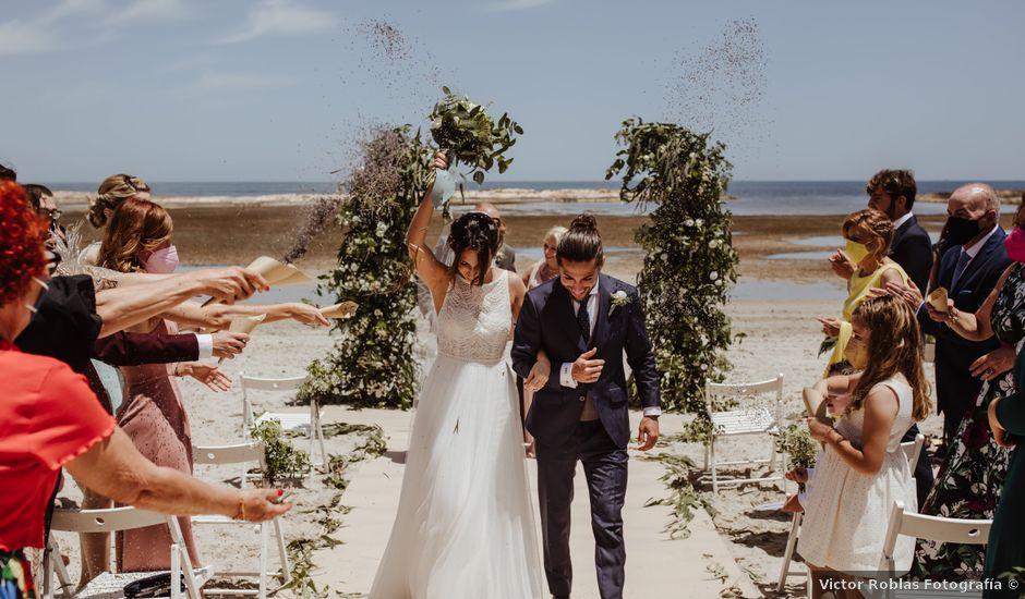 La boda de Roberto y Cristina en La Manga Del Mar Menor, Murcia