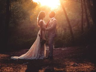 La boda de Daniela y John