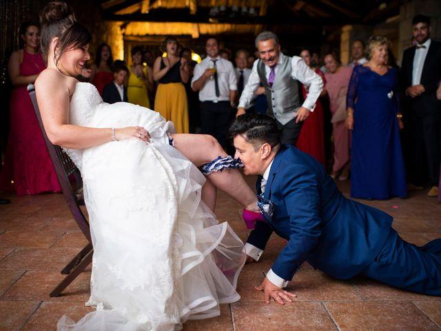 La boda de Manu y Sandra en Puebla De San Julian, Lugo 140