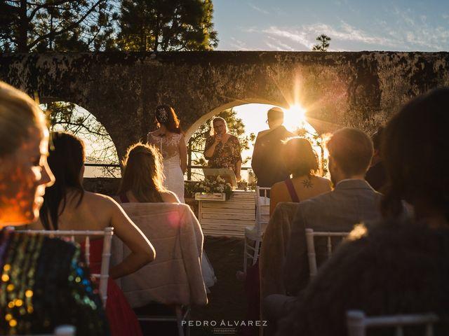 La boda de Andrés y Desirée en Tejeda, Las Palmas 12