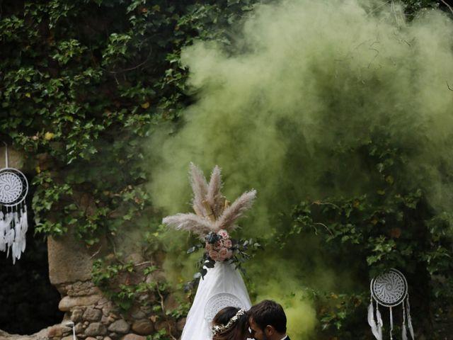 La boda de EDU y ESTHER en Riells, Girona 1