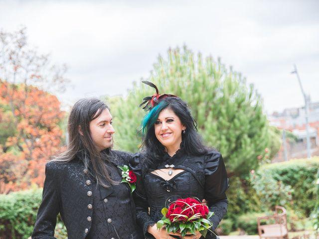La boda de David y Gema en Madrid, Madrid 10