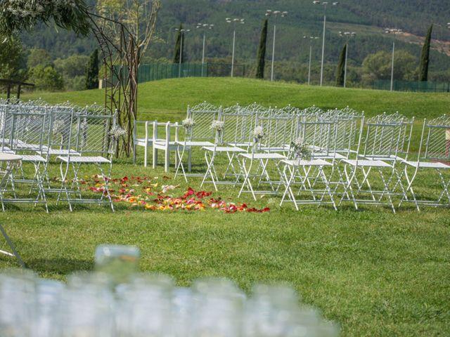 La boda de Jordi y Christiane  en Santa Coloma De Farners, Girona 2