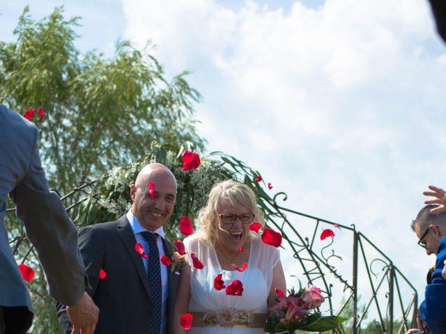 La boda de Jordi y Christiane  en Santa Coloma De Farners, Girona 3
