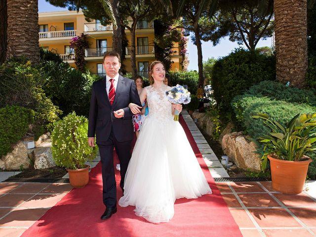 La boda de Arnau y Victòria en S'agaro, Girona 4