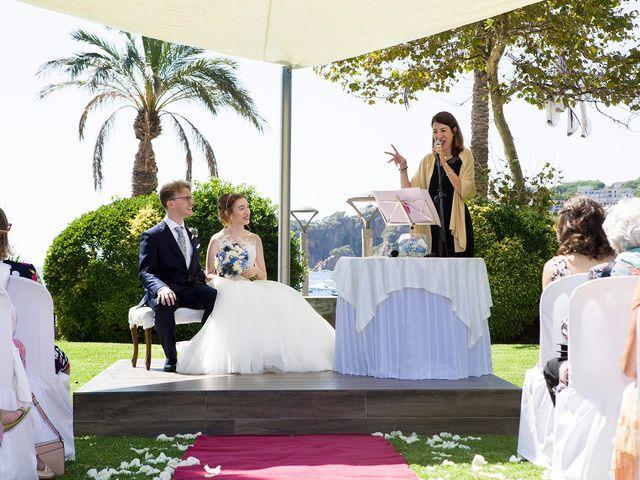 La boda de Arnau y Victòria en S'agaro, Girona 7
