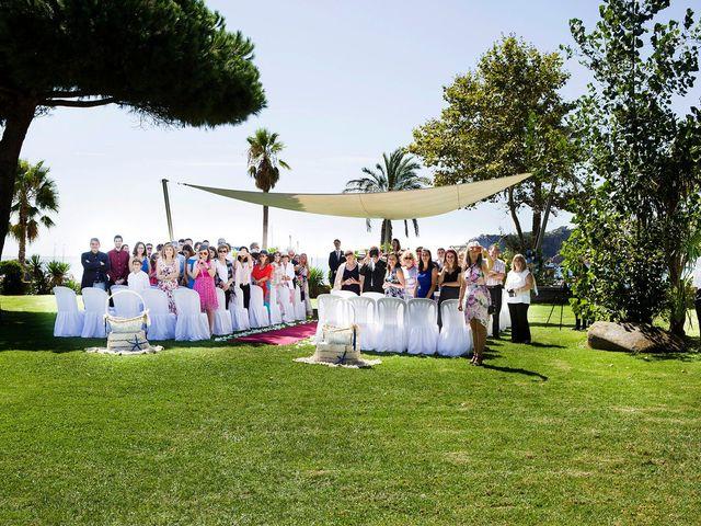 La boda de Arnau y Victòria en S'agaro, Girona 8