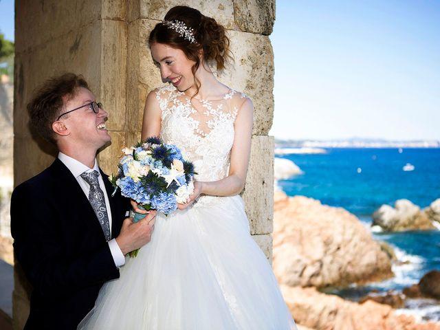 La boda de Arnau y Victòria en S'agaro, Girona 9