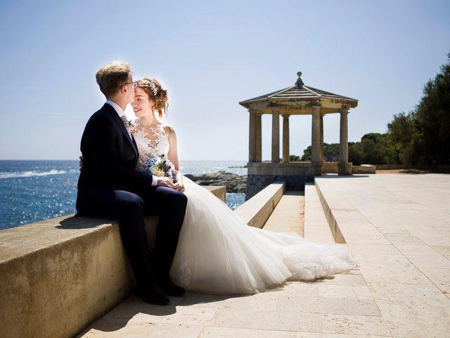 La boda de Victòria y Arnau