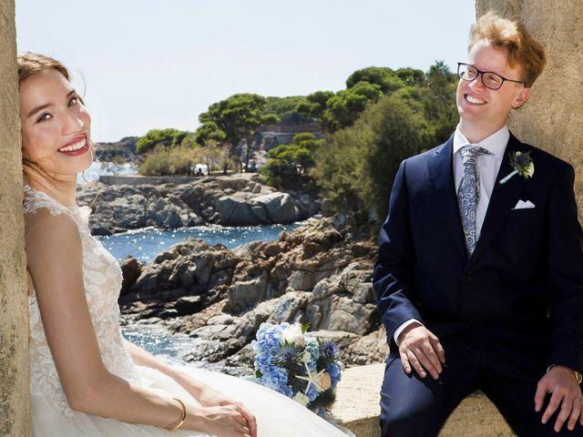 La boda de Arnau y Victòria en S'agaro, Girona 12