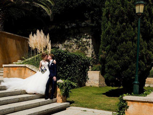 La boda de Arnau y Victòria en S'agaro, Girona 14