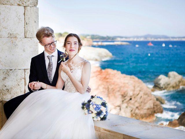 La boda de Arnau y Victòria en S'agaro, Girona 17