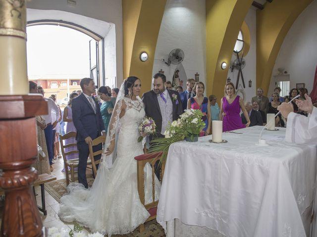La boda de Dina y Aaron en La Linea De La Concepcion, Cádiz 18
