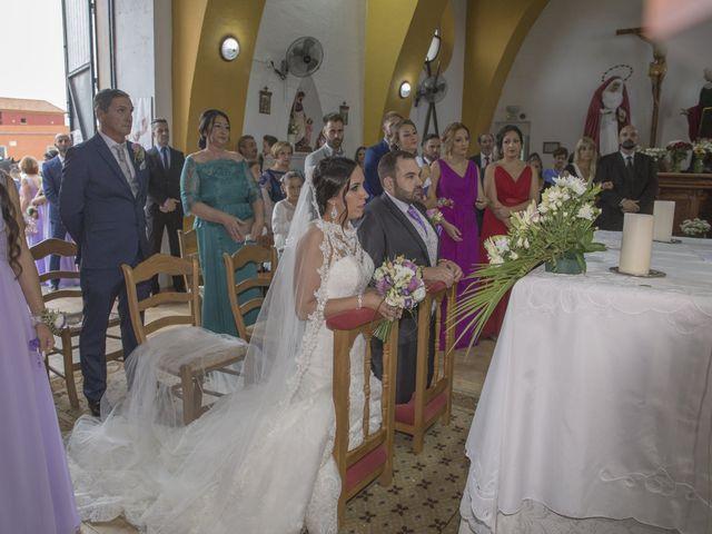 La boda de Dina y Aaron en La Linea De La Concepcion, Cádiz 19
