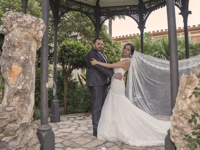La boda de Dina y Aaron en La Linea De La Concepcion, Cádiz 27