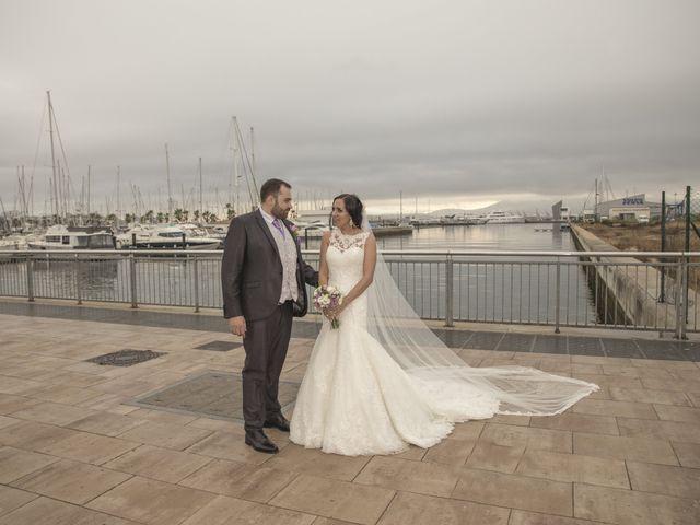 La boda de Dina y Aaron en La Linea De La Concepcion, Cádiz 30