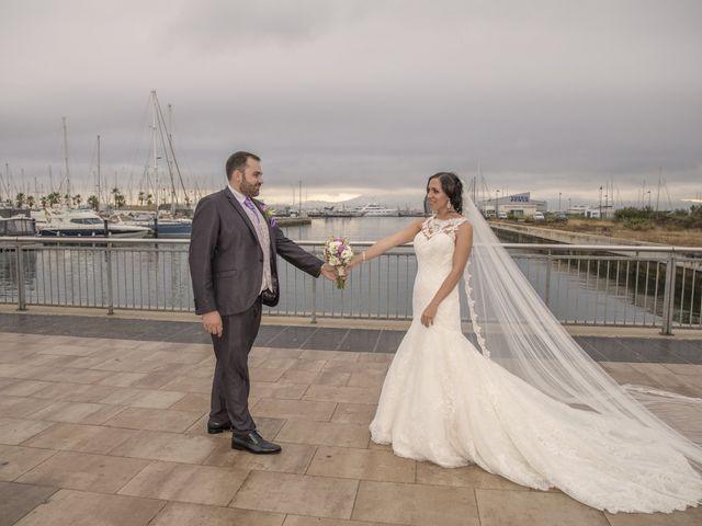 La boda de Dina y Aaron en La Linea De La Concepcion, Cádiz 32