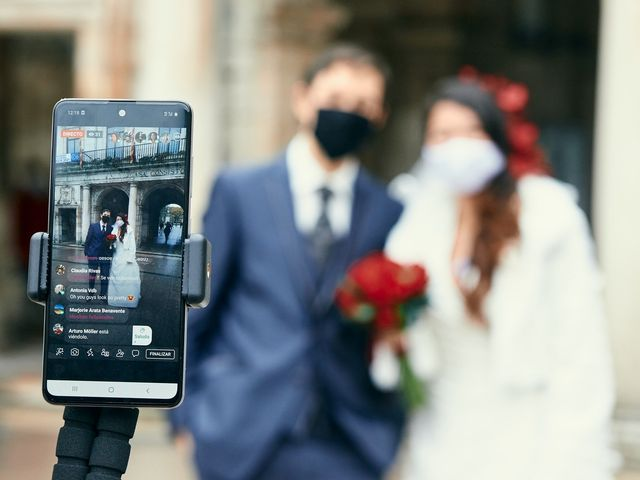 La boda de Eneko y Isabel en Burgos, Burgos 13