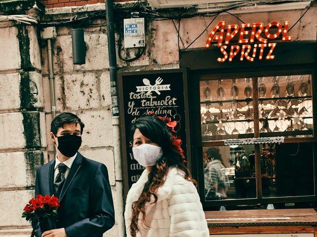 La boda de Eneko y Isabel en Burgos, Burgos 1